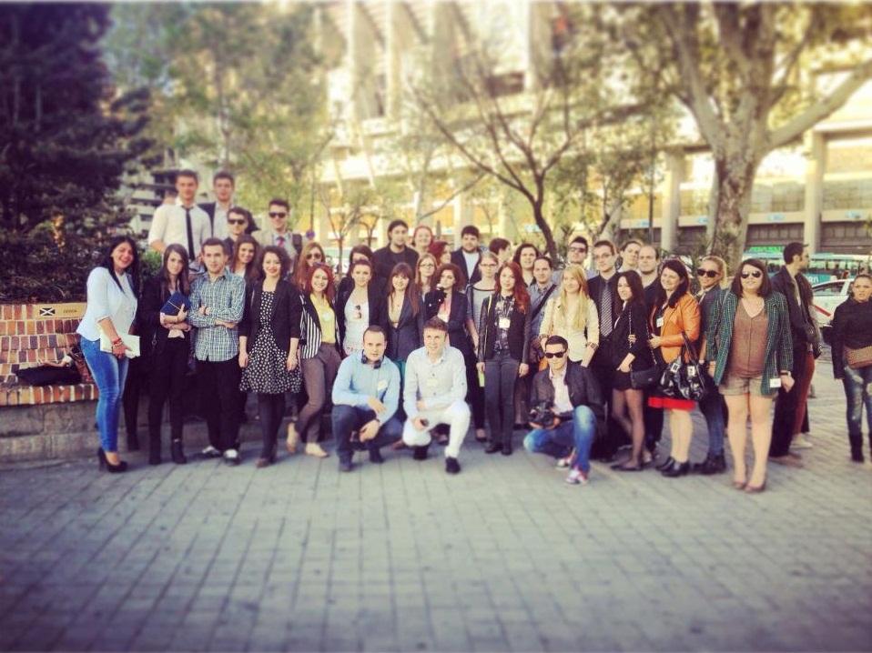 Studenții proiectului VEHMED în Spania