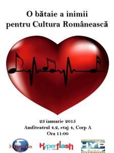 O bataie a inimii pentru cultura romaneasca
